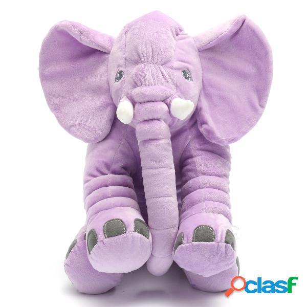 Little baby children long nose lumbar elephant sleeping pillow hold doll toys