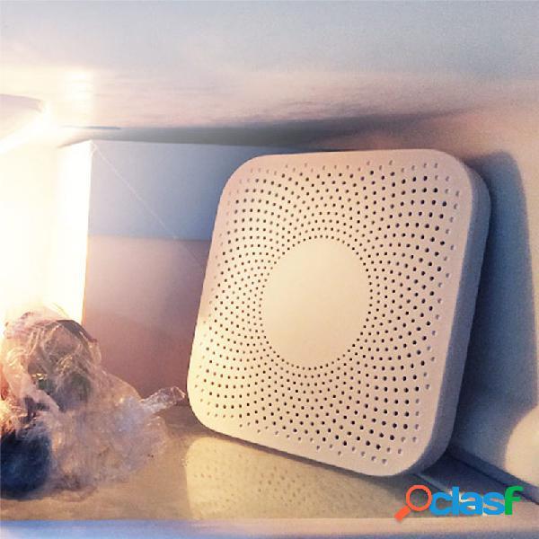 Geladeira de cozinha purificador de ar núcleo de filtro de sabor de esterilização por ozônio para uso doméstico