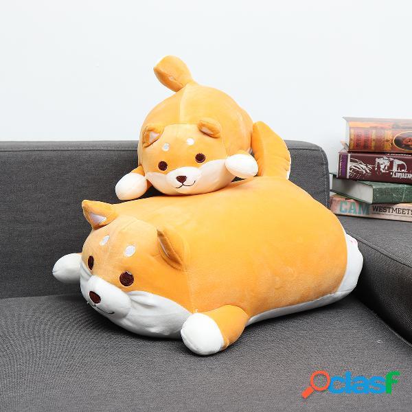 35/55 cm shiba inu cão bonito super macio kawaii animal brinquedo do miúdo recheado almofada almofada de pelúcia