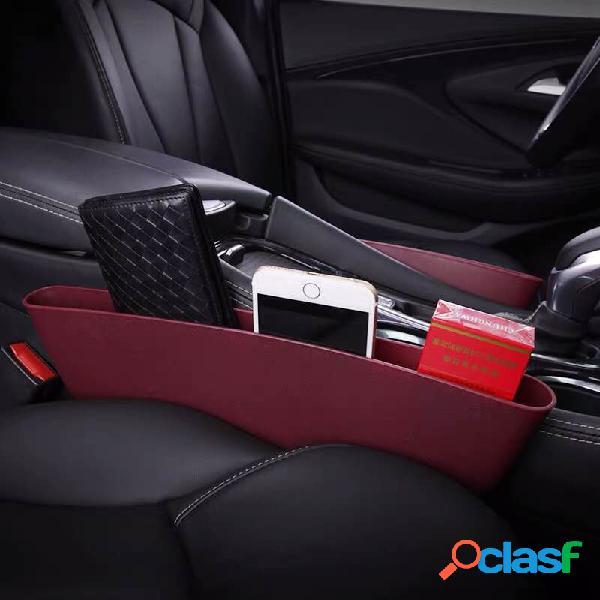Car supplies car seat tridimensional clip gap storage armazenamento multifuncional bolsa