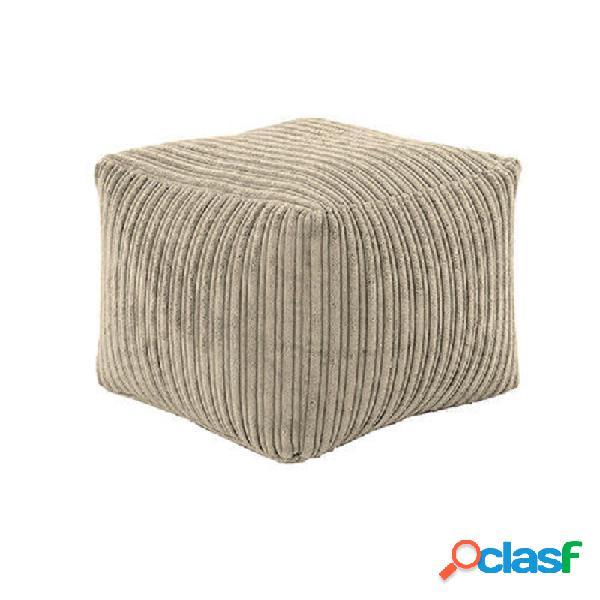 Assento apoio para os pés descanso para os pés jogo cadeira sofá móveis de veludo capas para beanbag interior