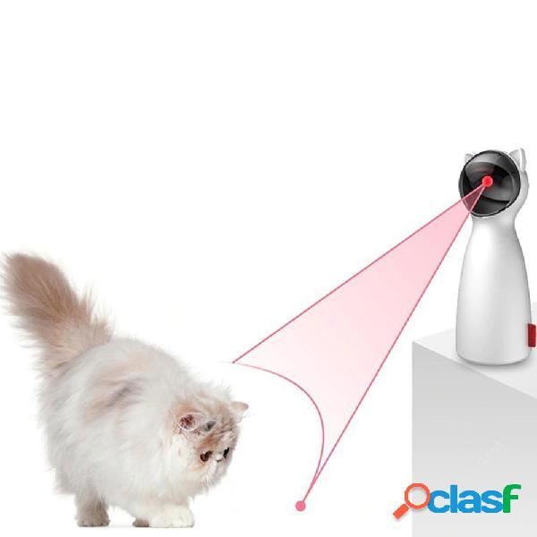 Bentopal-p01 cat handheld automático laser teasing devices dual poder mute pet toys