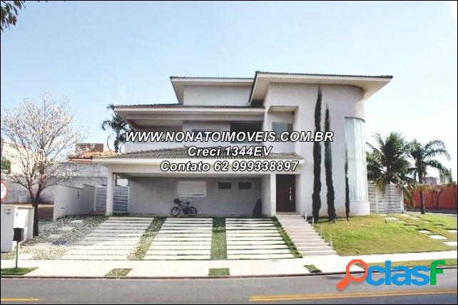 Casa luxuosa à venda, residencial alphaville flamboyant, goiânia