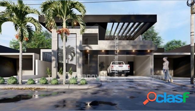 Casa térrea 3 suítes - construção - cond. altos da serra 6 - prev. jan/2021