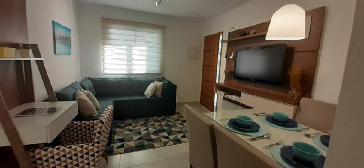 Apartamento para venda possui 42 m² com 2 quartos em vila
