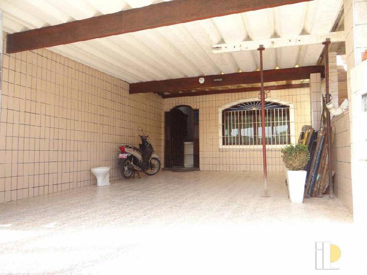 Casa com 3 dorms lado praia a venda no solemar em praia