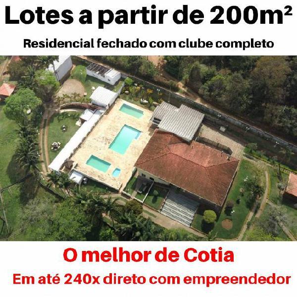 Lotes a partir de 200m² por apenas 119 mil! condições