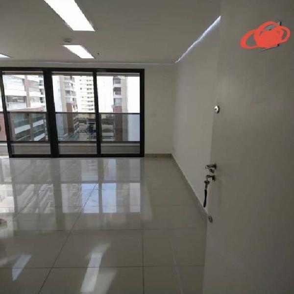 Sala/conjunto para venda possui 34 metros quadrados em