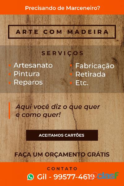SERVIÇOS EM MARCENÁRIA