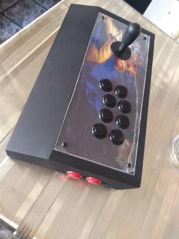 Controle arcade ps3 ps4 pc
