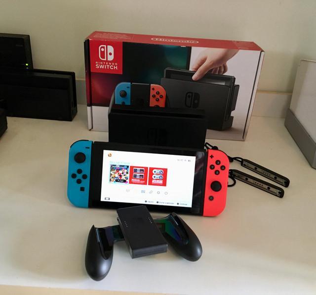 Nintendo switch - aceita cartão