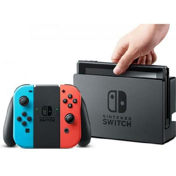 Nintendo switch semi novo na caixa