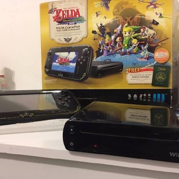 Nintendo wiiu edição especial zelda