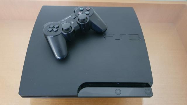 Playstation 3 slim semi novo com garantia