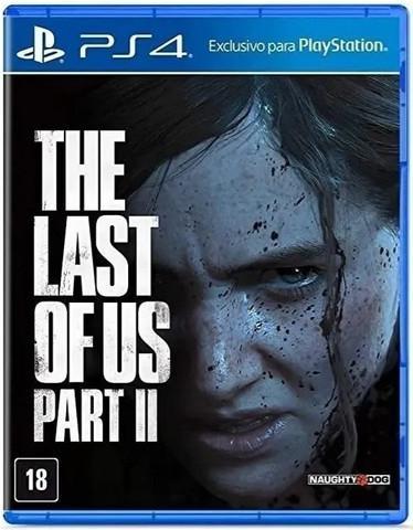 The last of us parte 2 mídia física (código intacto)