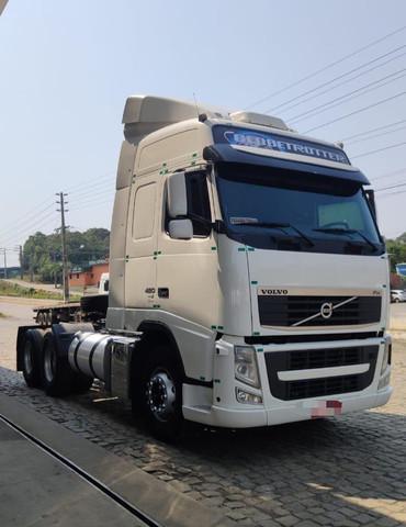 Volvo fh 420 ano 2012 trucado 6x2 ishift unico dono