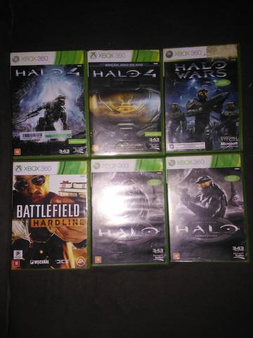 Xbox 360 jogos originais 70 cada um
