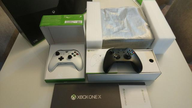 Xbox one x - 4k ultra hd