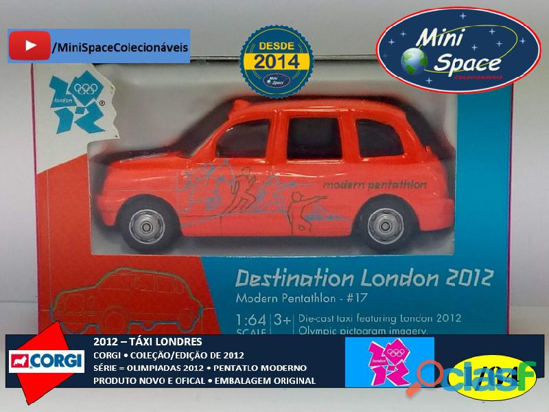 Corgi 2012 Táxi Londres Olimpíadas Pentatlon Moderno 1/64 1