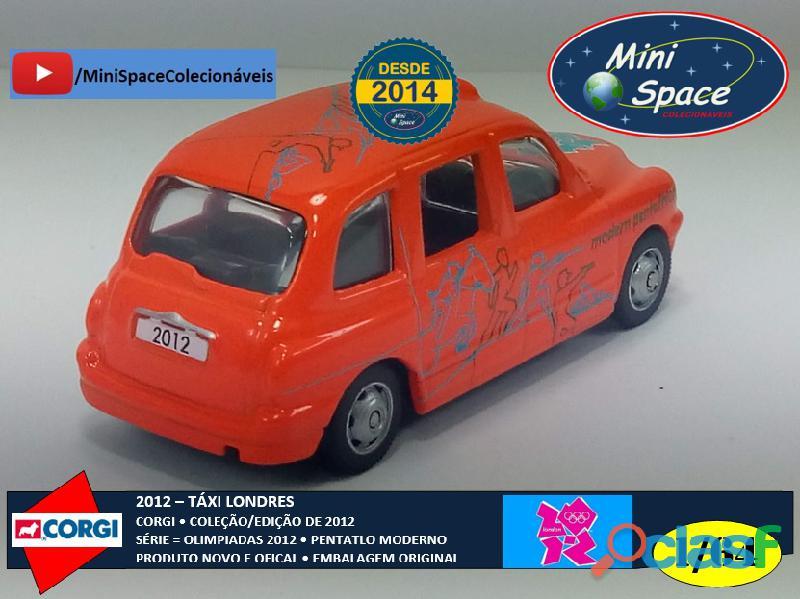 Corgi 2012 Táxi Londres Olimpíadas Pentatlon Moderno 1/64 11