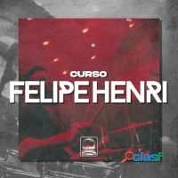 CURSO DE BATERIA FELIOE HENRI