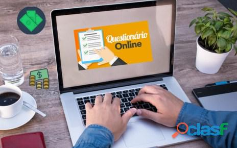 Ganhe Dinheiro respondendo Pesquisas Online