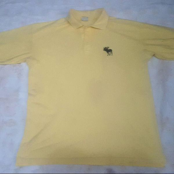 Camisa polo masculina abercrombie e fitch