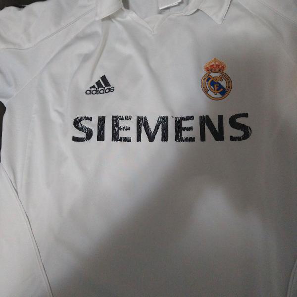 Camisa real madrid 2005/2006