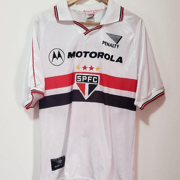Camisa são paulo fc penalty 2000