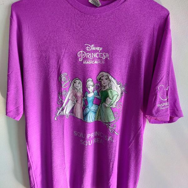 Camisa de caminhada e corrida disney princesa magical run
