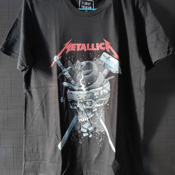 Camiseta metallica skull history
