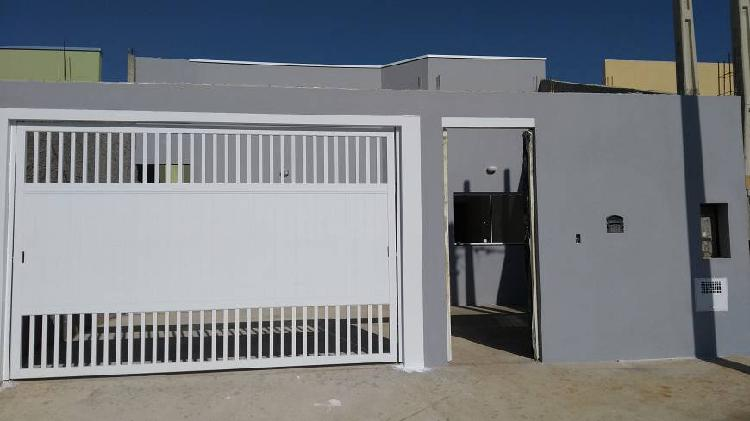 Casa nova em salto/sp r$ 161 mil aceitamos carro como