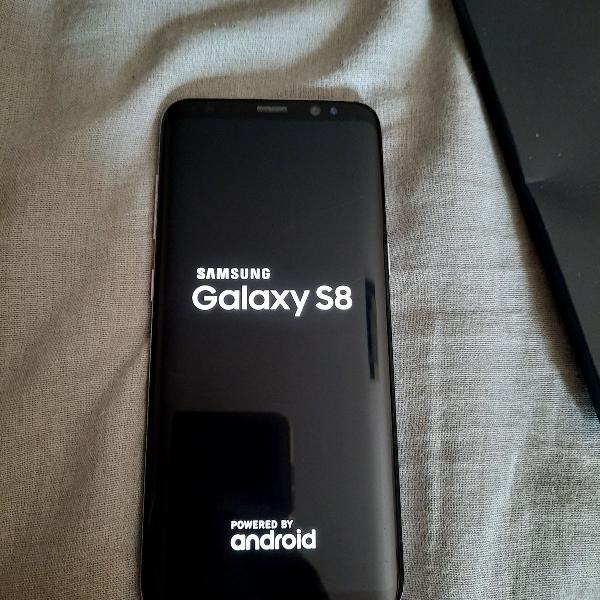 Celular Samsung S8 SEMI NOVO 64G com NOTA FISCAL