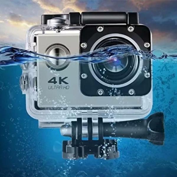 Câmera sporting ação filmadora wifi 4k ultra