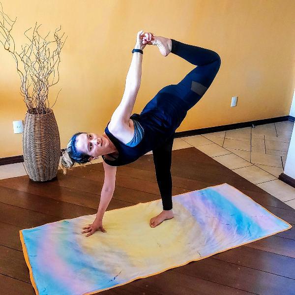Mat canga yoga - função 3 em 1