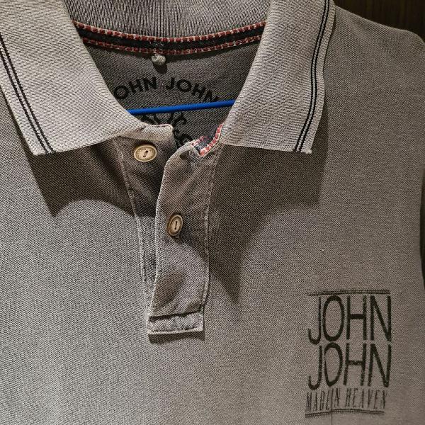 Polo cinza estonada john john m