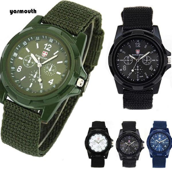 Relógio masculino estilo militar