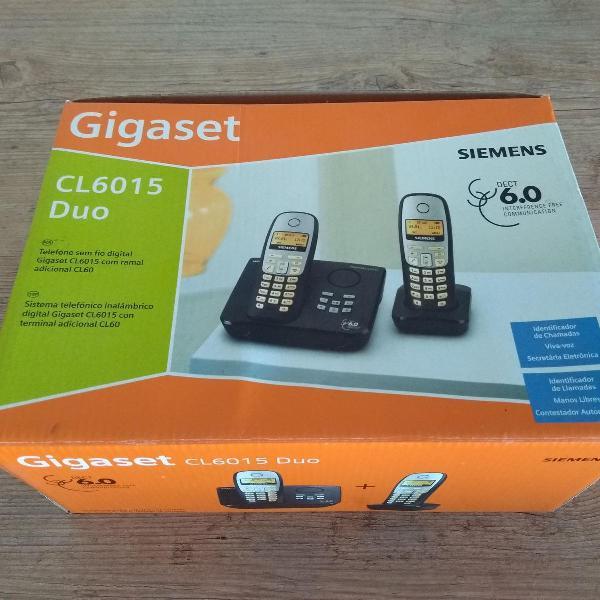 Telefone sem fio digital com ramal