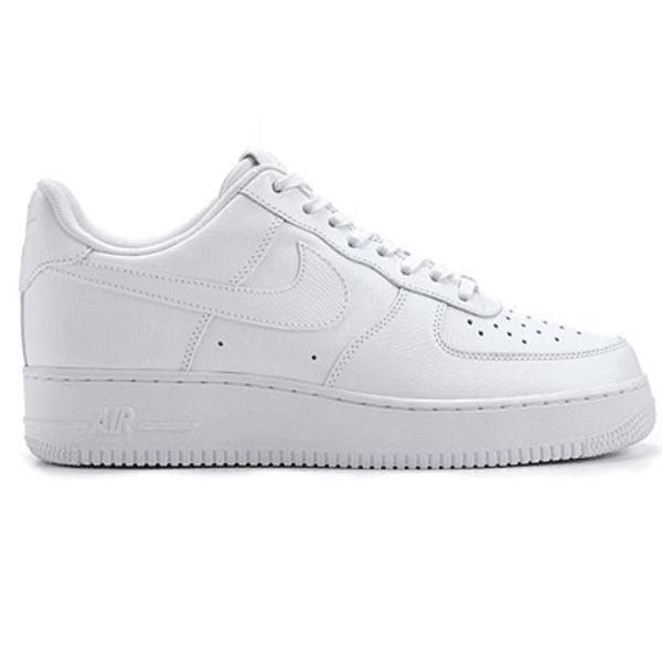 Tenis nike air force 1 mid couro branco