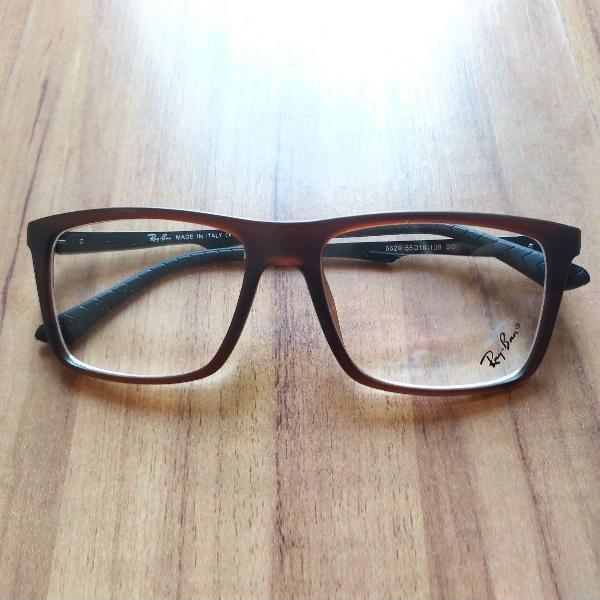 Armação rayban óculos grau