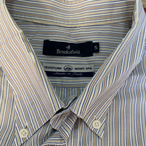 Camisa brooksfield tamanho 5