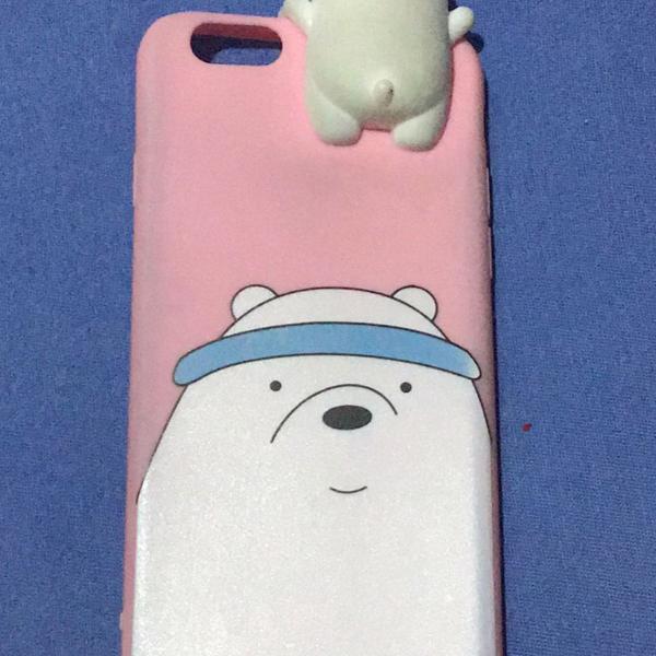 Case iphone 6s urso polar