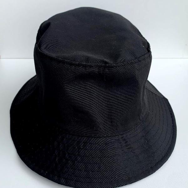 Chapéu bucket hat preto
