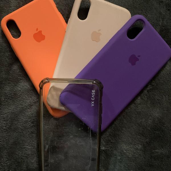 Conjunto capas iphone x