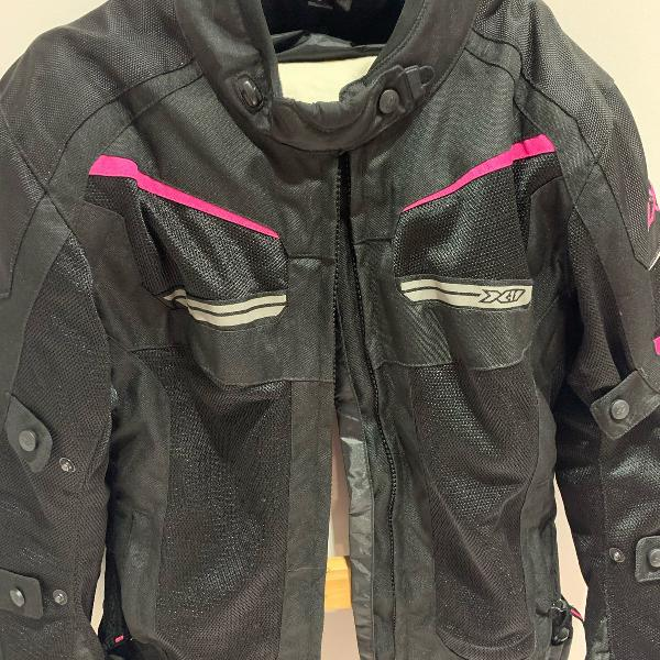Jaqueta moto x11 feminina