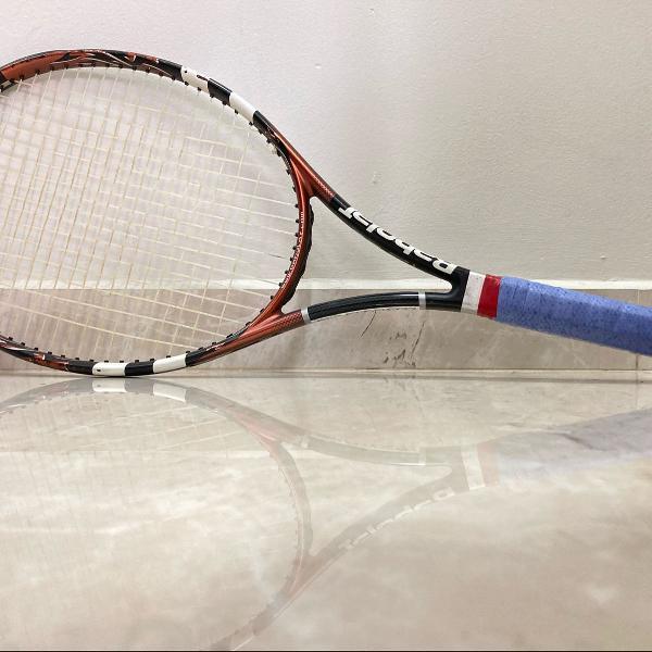 Raquete tênis babolat raptor ti com capa individual