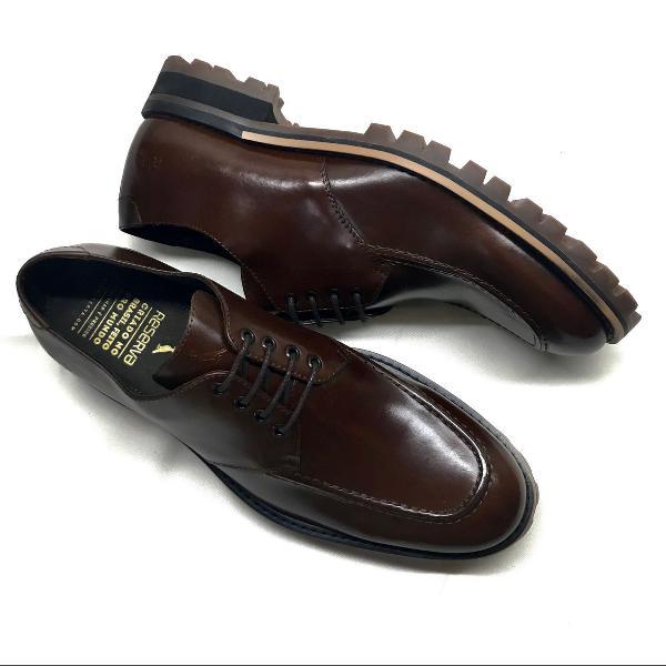 Sapato casual masculino em couro reserva 40