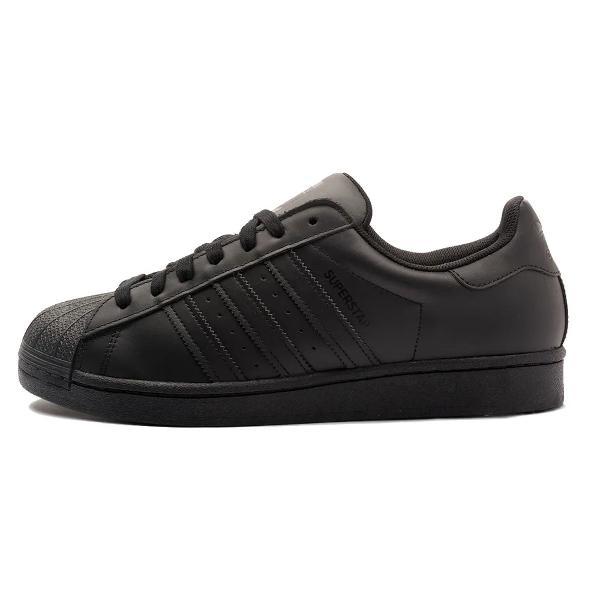 Tênis adidas superstar preto black clássico