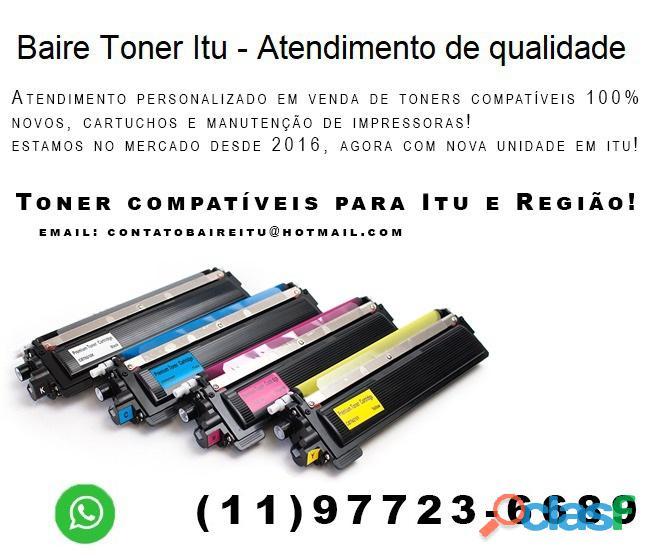 Toner compatível para sua impressora você encontra na Baire Toner Itu 2
