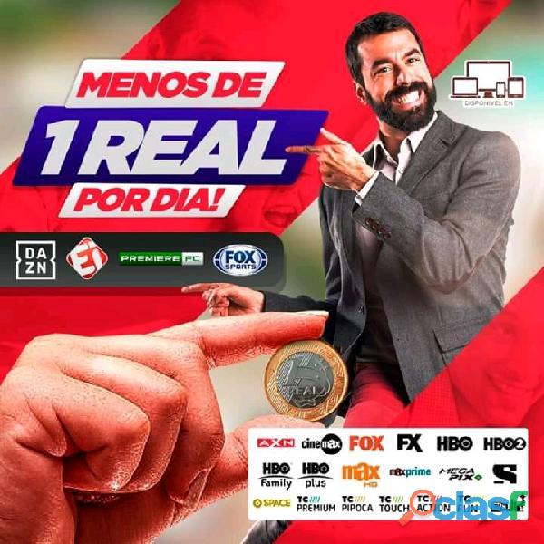 Tv Via Internet São + de 1000 Kanais disponíveis !!!!